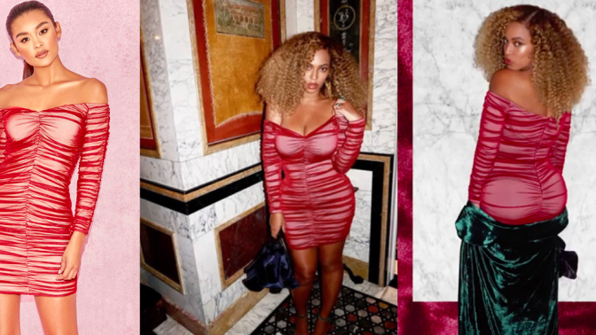 Beyonce wore a $179 dress that shockingly isn't sold out yet