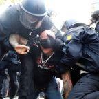 Berlin police arrest 300, disband protest against coronavirus curbs