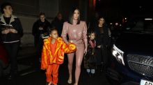 Kim Kardashian leaps to defence of daughter North after her painting skills are questioned