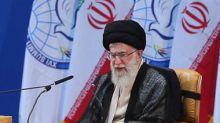 Supreme leader of Iran Ayatollah Ali Khamenei says Donald Trump is a 'clown' pretending to support the Iranian people