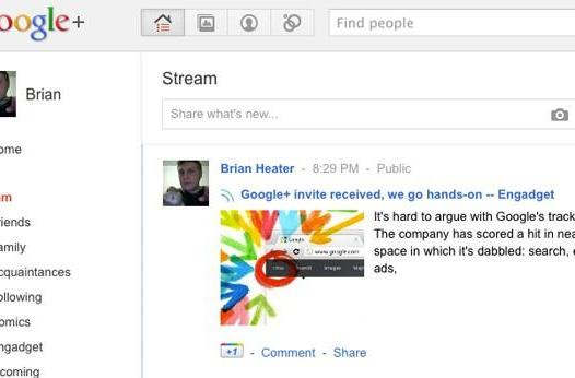 Google+ invite received, we go hands-on