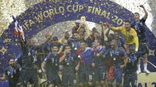 France lift second World Cup after 4-2 win