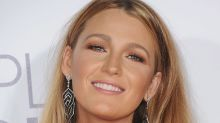Blake Lively showed off her cast after an on-set injury