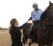 US Park Police Equestrian Team Gets Ready for Inauguration