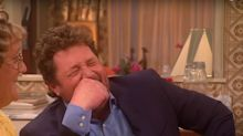 Mrs Brown's sex talk leaves Michael Ball in stitches