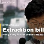 Hong Kong leader Carrie Lam delays unpopular bill; activists want more