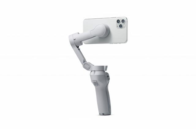 DJI's next smartphone gimbal might have a magnetic quick mount system