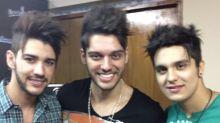 Lucas Lucco posta foto antiga com Gusttavo e Luan e faz piada