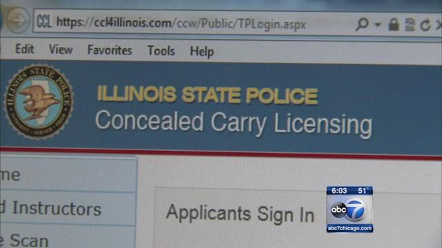 Some Illinois concealed carry applicants notified of security breach