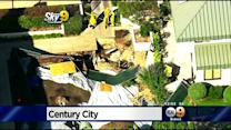 Century City Parking Structure Partially Collapses In Construction Accident
