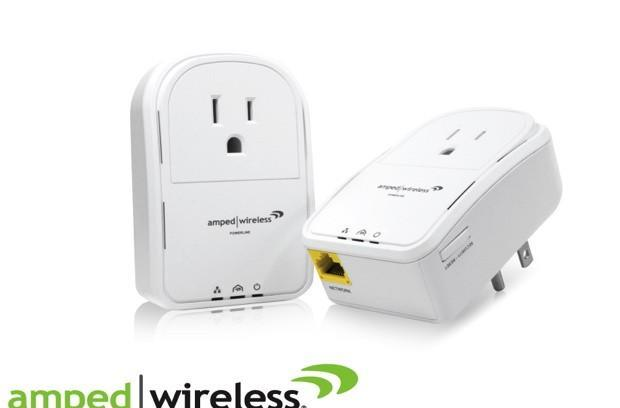 Amped Wireless' PLA2 super power-line adapters are available from today