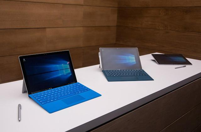 Microsoft passes on updating the Surface Pro