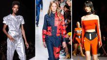 Glitzer, Rodeo, schulterfrei: Die drei wichtigsten Trends der New York Fashion Week