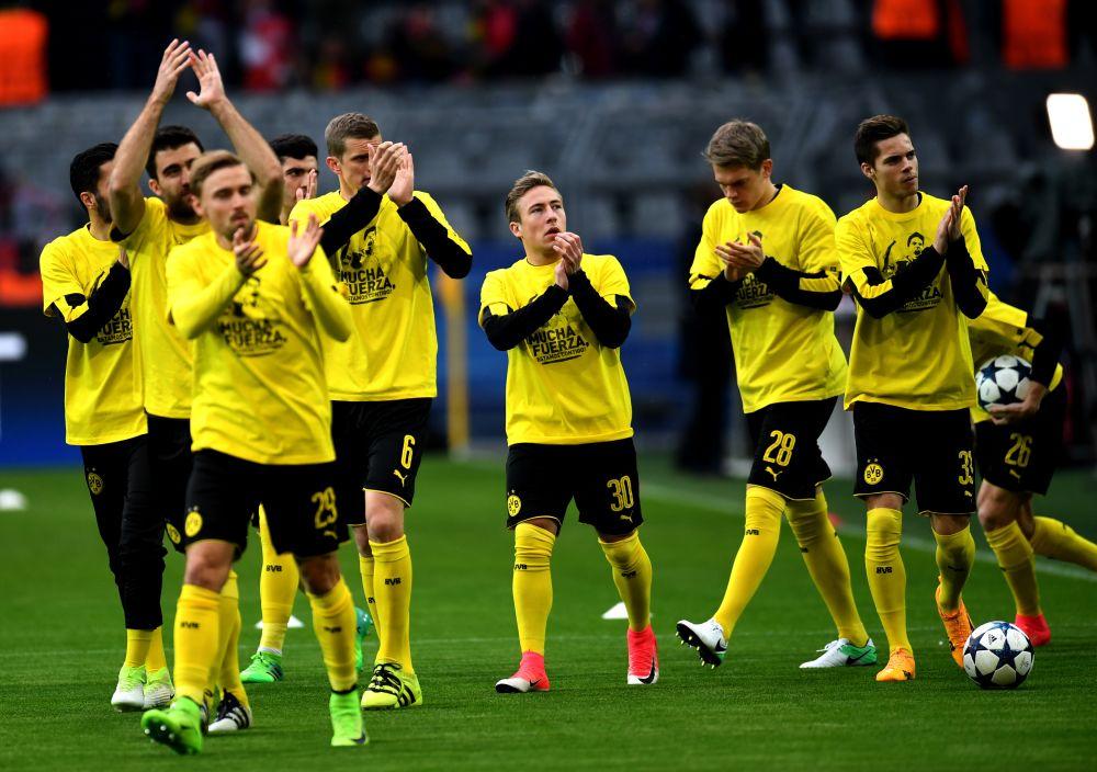 Dortmund-Monaco: le soutien touchant à Bartra