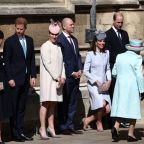 Queen celebrates her 93rd birthday with family at Easter church service