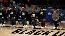 Astros da NBA protestam após novo ataque de policial a homem negro