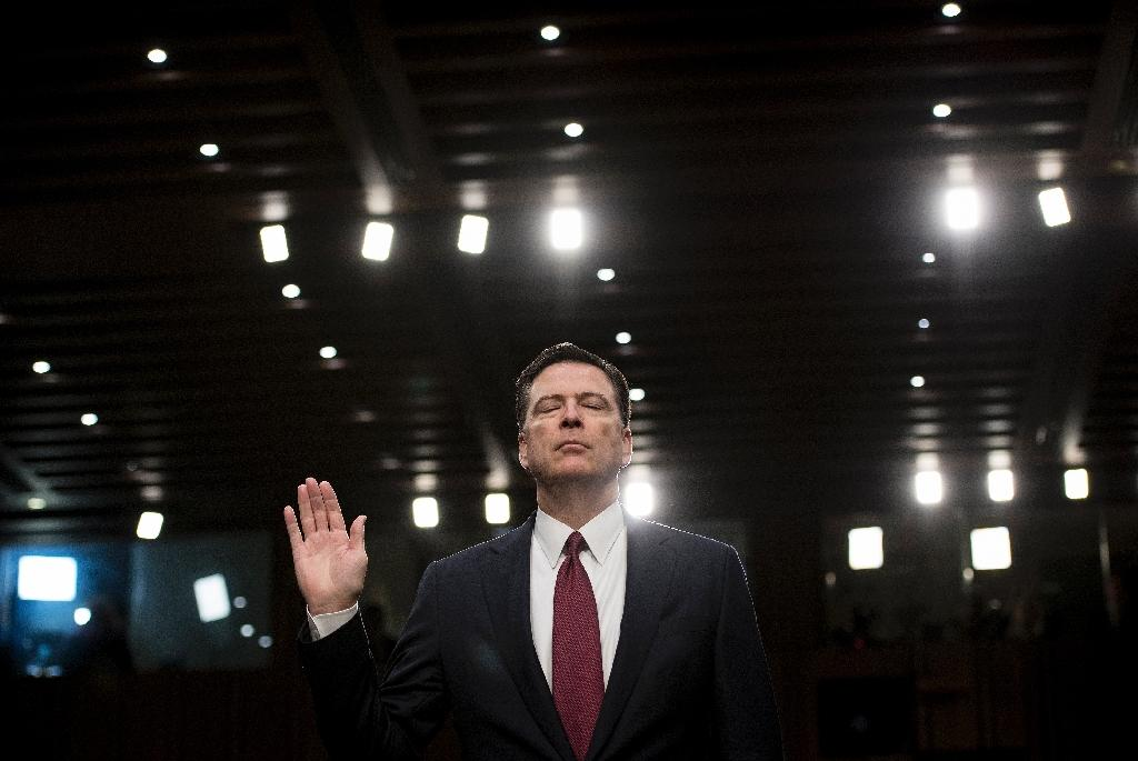 'Loyalty': Comey's new book title a dig at Trump