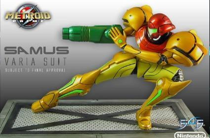 Forget Barbie, we'll take the Samus statue