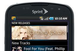 Sprint Music Plus app gives users yet another mobile jam portal... if you're cool with RealNetworks