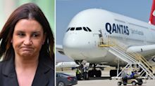 Jacqui Lambie banned from Qantas after 'pussy power' rant