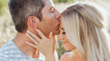 'Bachelor' Arie Luyendyk Jr. and fiancée Lauren Burnham share engagement photos