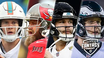 Fantasy Football Podcast: Taking a ride on the Tannehill-Fitzpatrick-Bortles-Foles QB carousel