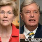 Elizabeth Warren Has A Scathing Theory On Where Lindsey Graham's Spine Is