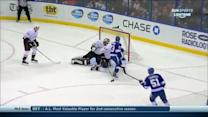 Valtteri Filppula buries the one-timer