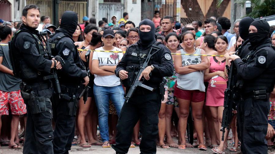 11 killed in alleged gun attack at Brazilian bar