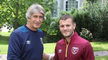 Jack Wilshere on watching England from home, Manuel Pellegrini's revolution and his West Ham idols as a boy