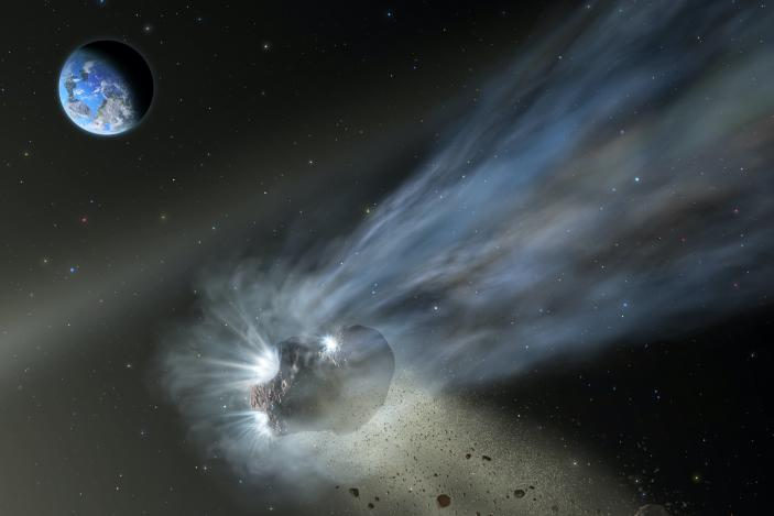 Comets may have seeded Earth with life-supporting carbon