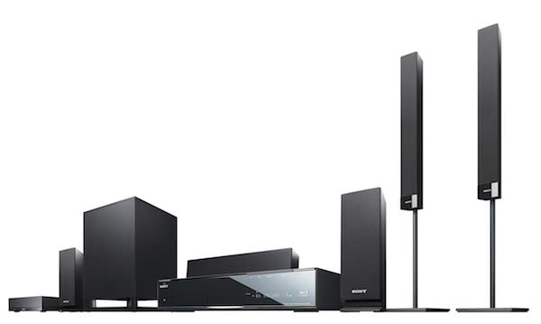 Sony has some new Blu-ray home theater systems and yes, one does 3D
