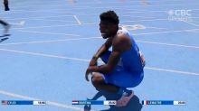 Velocista faz tempo menor do que recorde de Bolt mas percebe que correu 15 metros a menos; vídeo