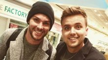 Former Hollyoaks star Parry Glasspool has a Starry reunion with Kieron Richardson