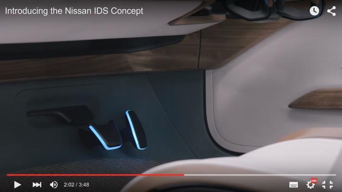 Lenkrad weg, Tablet raus: Nissan führt Intelligent Driving System vor
