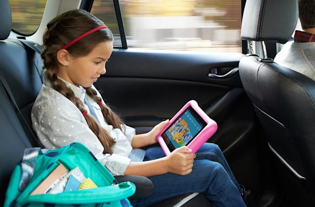 Amazon launches Fire HD 10 for kids and 'show mode' dock