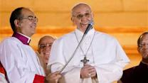Pope Francis takes first outing