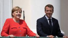 Merkel und Macron verbünden sich für eine EU- und Asylreform