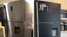 'This is amazing': Woman transforms fridge using $3 product from Kmart