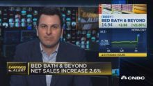 Bed Bath and Beyond beats earnings estimates