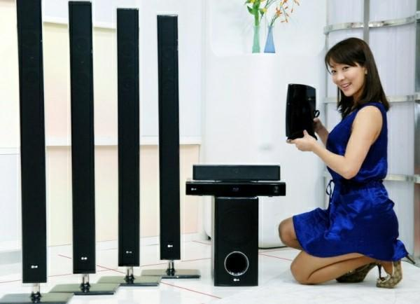 LG unveils new Blu-ray 5.1 HTIB combos