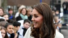Kate Middleton activa a pocas semanas de dar a luz