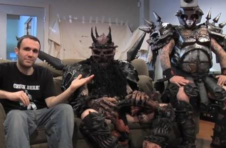 Game Informer asks: Will Kinect work if you're Gwar?