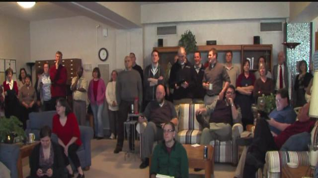 Seminary students excited about new pope