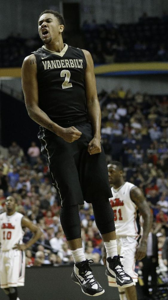 Vanderbilt coach not allowing 2 players to return