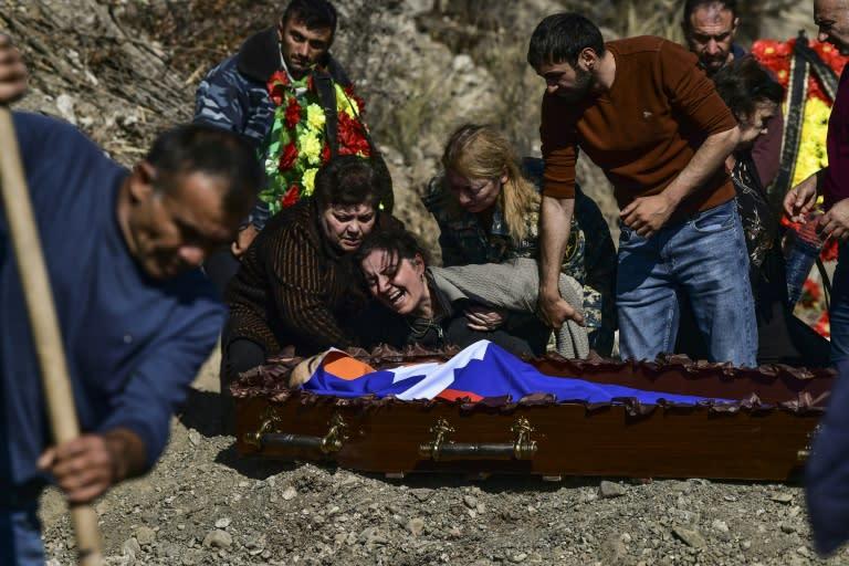 Tigran Petrosyan was killed in a drone strike