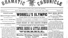 9 of the very first editions of famous American newspapers