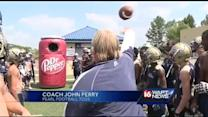 Dr. Pepper Tailgate Toss: John Perry