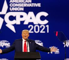 As it happened: Donald Trump says he may run for White House again in CPAC speech