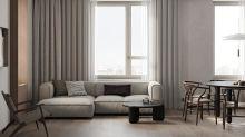 【居家裝潢】安定沉靜的氛圍,以簡練結構建構的溫馨住宅